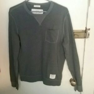 A&F long sleeve thermal muscle shirt